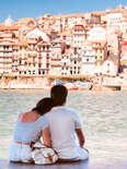 Portugal, Porto, Seascape and Lovers