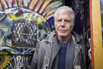 Anthony Bourdain on the Lower East Side