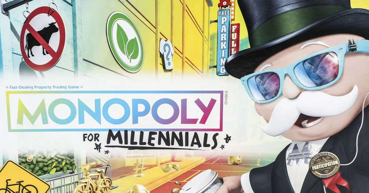 You Can't Buy Property in Monopoly for Millennials Because 'You Can't Afford it Anyway'