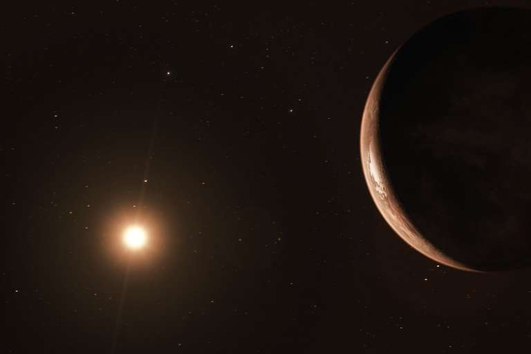 ESO, Super-Earth, Barnard's Star