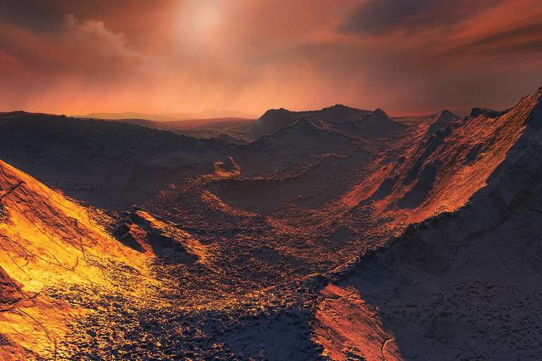 ESO, Barnard's Star, Super-Earth