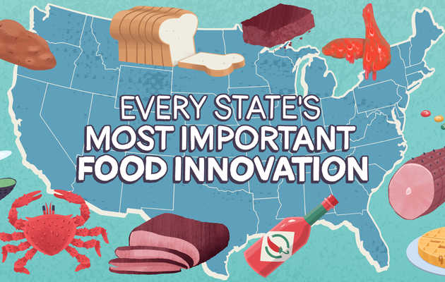 Every State's Most Important Food Innovation