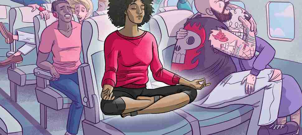 How to Get Over Travel Anxiety and Bliss Out on Your Next Flight