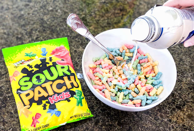 We Tried the New Sour Patch Kids Cereal Before Anyone Else
