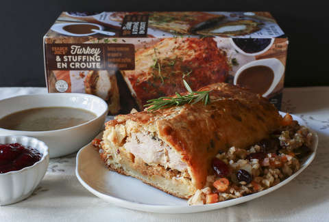 Trader Joe's Turkey & Stuffing En Croute