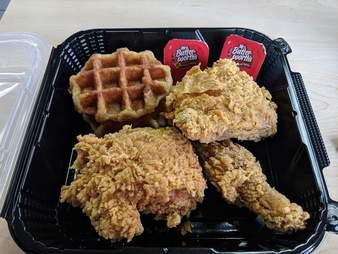 KFC Chicken & Waffles