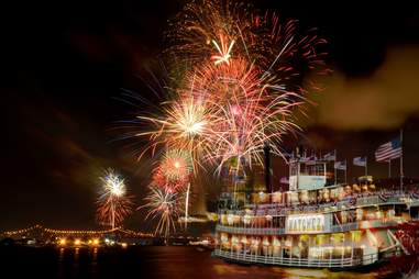 The Natchez's New Years Eve cruise