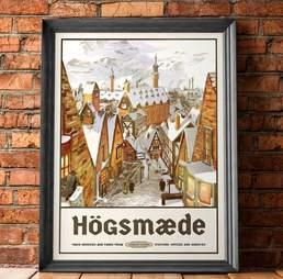 Hogsmeade Tourism Poster