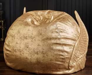 golden snitch bean bag chair