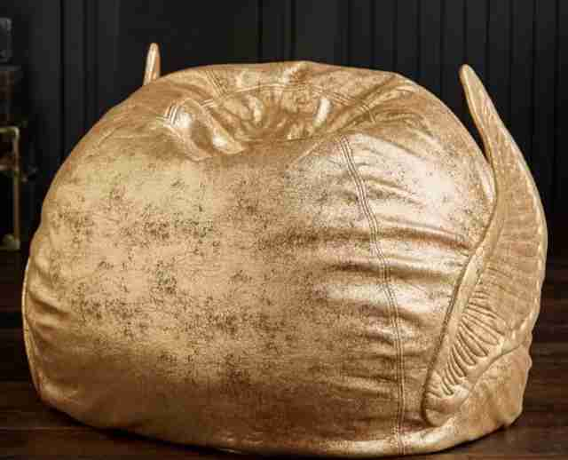 golden snitch bean bag chair