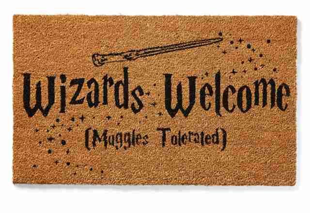 wizards welcome welcome mat