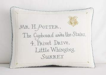 harry potter pillow sham