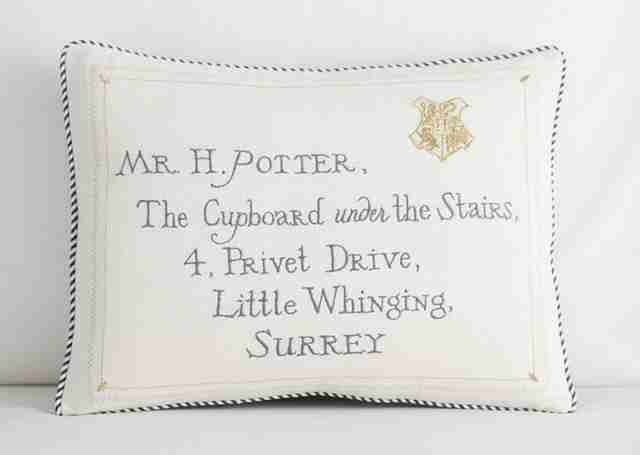 harry potter pillow sham