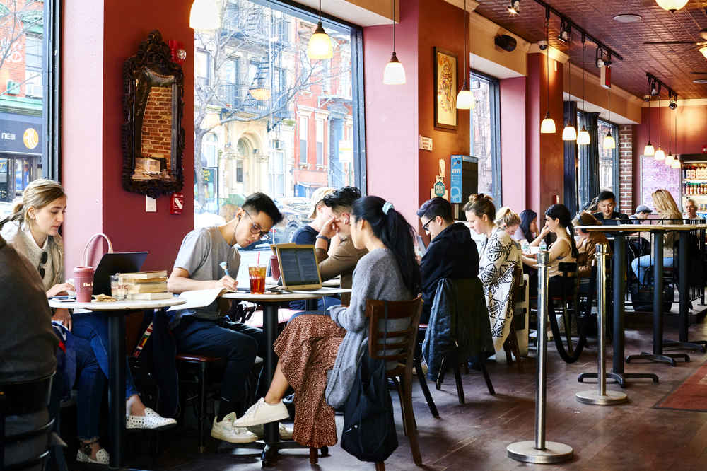 Best Coffee S To Work In Nyc Where Study From Home More Thrillist