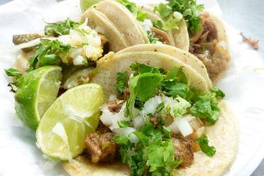 barbacoa taco tacos roasted shredded meat