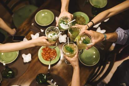 drinks pregaming
