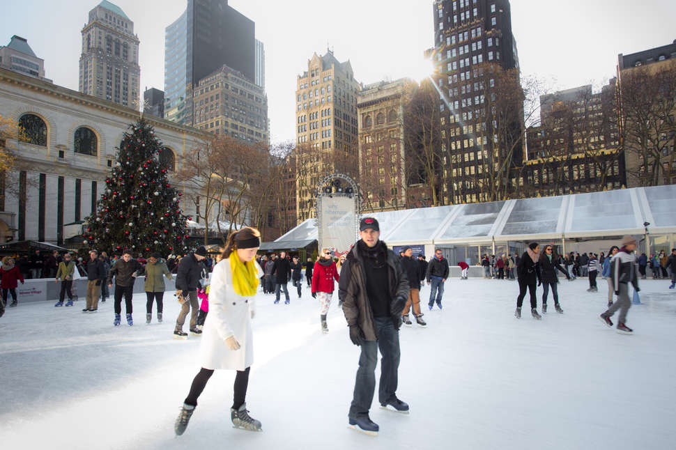 New York Ice Rink Date