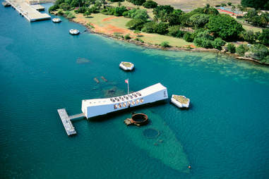 The USS Arizona