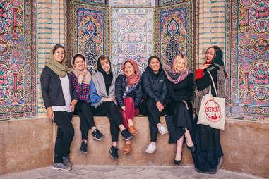 Iran women's travel