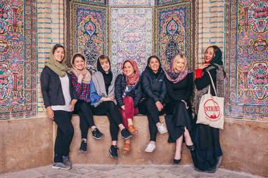 Voyage des femmes en Iran