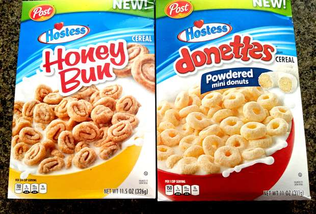 We Ate Hostess' New Donettes and Honey Bun-Inspired Cereals