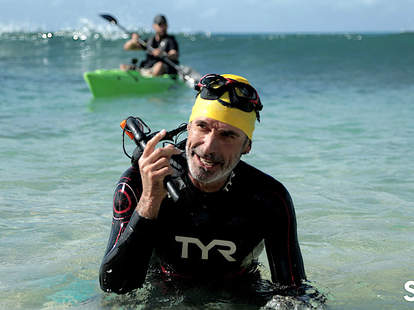 Ben Lecomte, The Swim, plastic pollution