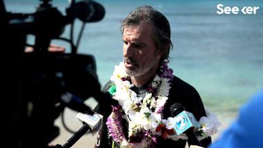 The Swim, Ben Lecomte, plastic pollution