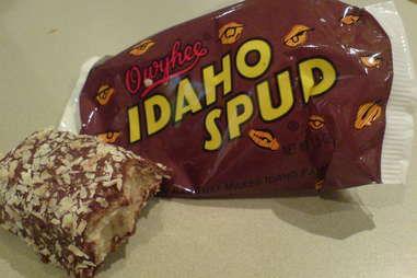 Idaho Spud candy bar