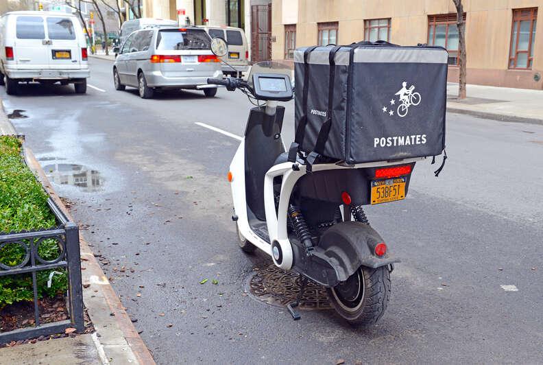 postmates bike nyc