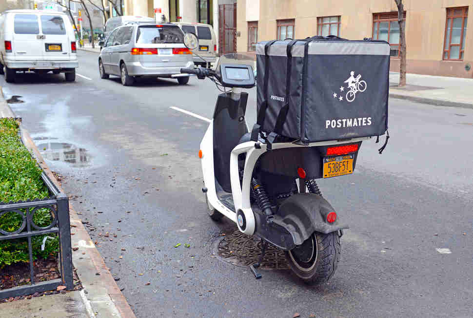 postmates bike nyc