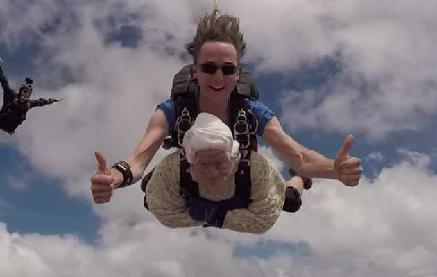 Watch This 102-Year-Old Woman Skydive and Get Stoked About Aging