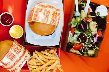 pool burger