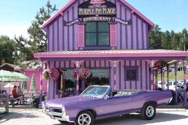Purple Pie Place Restaurant, Pie Shop and Ice Cream Parlor