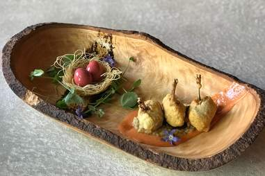Ostra wooden dish