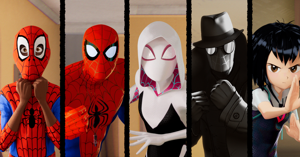 Spider Man Into The Spider Verse Every Spider Man Character Explained Thrillist