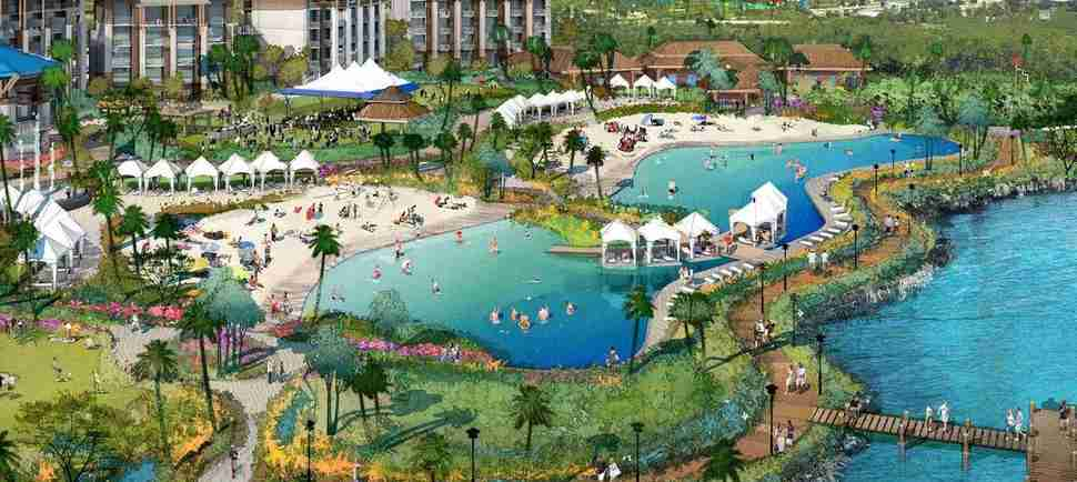 Jimmy Buffett Is Opening a 300-Acre Margaritaville Resort With a Water Park in January