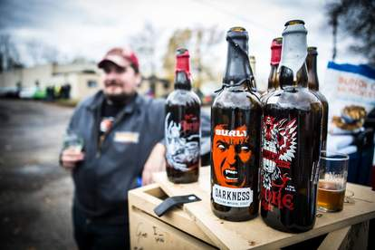 darkness surly brewing