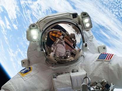 NASA, astronaut, perception, vection