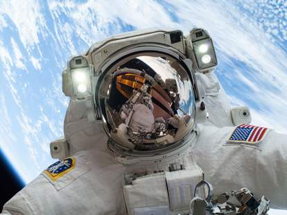 NASA, astronaut, perception, vection