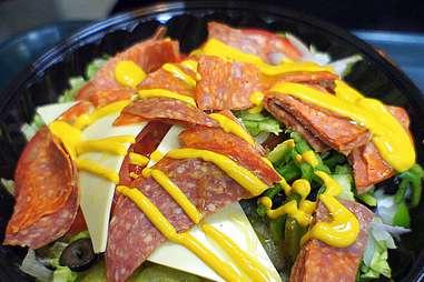 Subway salad keto