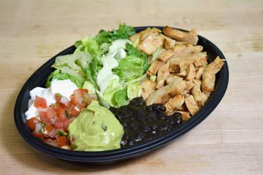 Taco Bell Cantina Bowl keto