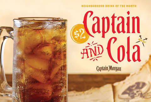7725cd5c1b1 Applebee's $2 Captain & Colas All of January 2019: How to Get $2 ...