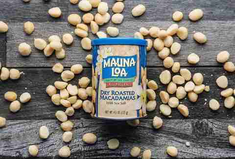 macadamia nuts on table