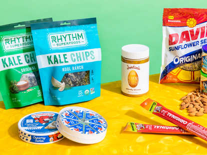 spread of snacks