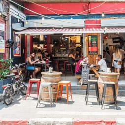 Shuk HaCarmel market, Tel Aviv, Israel