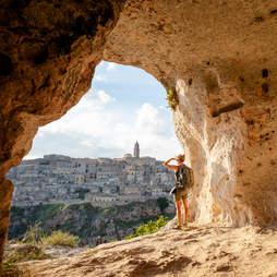 cave of Matera, Basilicata, Italy