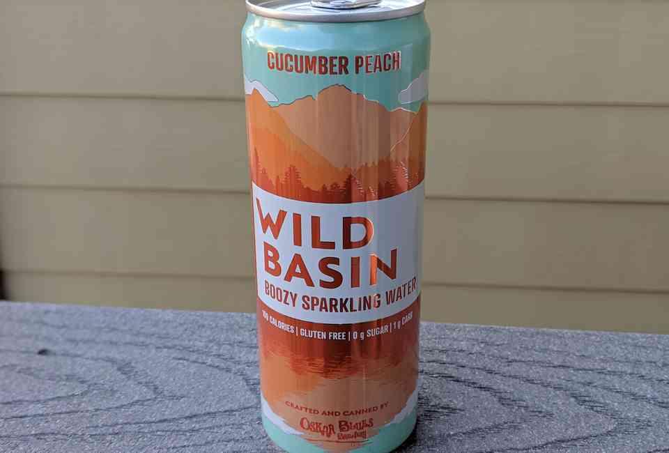 Oskar Blues Wild Basin: The Alcoholic Seltzer is a Boozy
