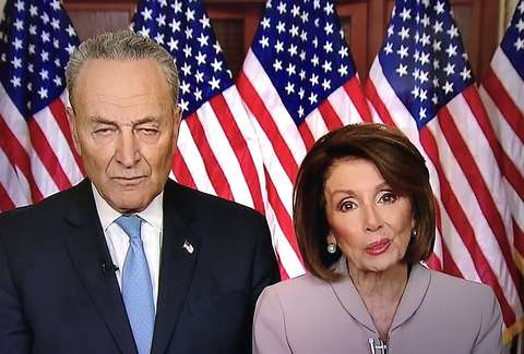 Image result for funny pelosi and schumer