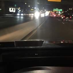 Busy Bronx highway