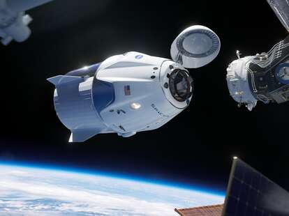 NASA, SpaceX, Crew Dragon, ISS, International Space Station